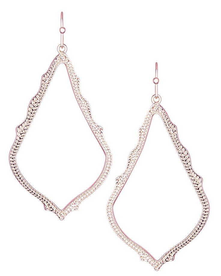 Sophee Drop Earrings in Rose Gold - Kendra Scott Jewelry.