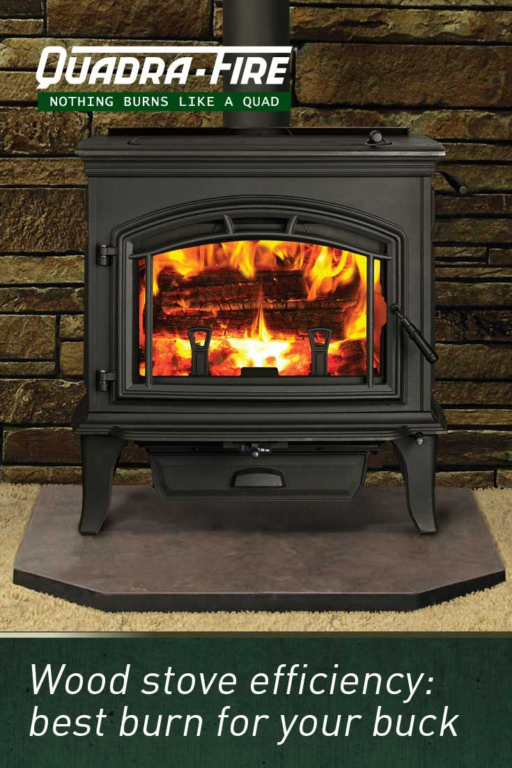 Wood Stove Efficiency Best Burn For Your Buck Fire Wood