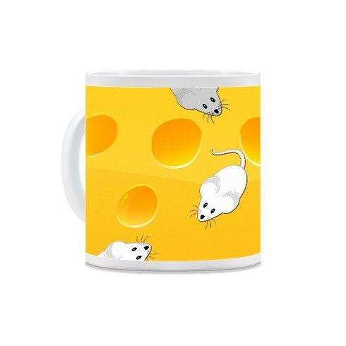 mice on cheese Mug by ancello at zippi.co.uk
