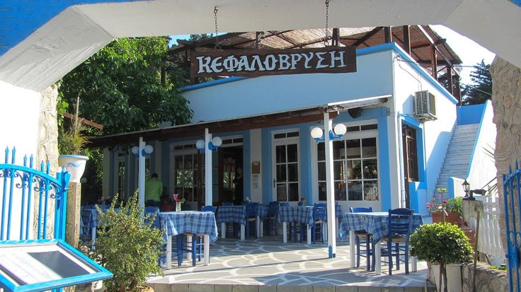 Good Greek food at Mountain Dikeos
