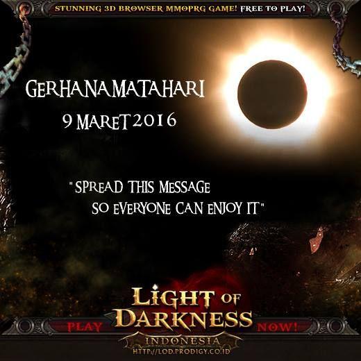 LIGHT of DARKNESS INDONESIA, game MMORPG muktahir berlatar perjalanan lintas jaman dan waktu. Selamatkan realm City of Time di