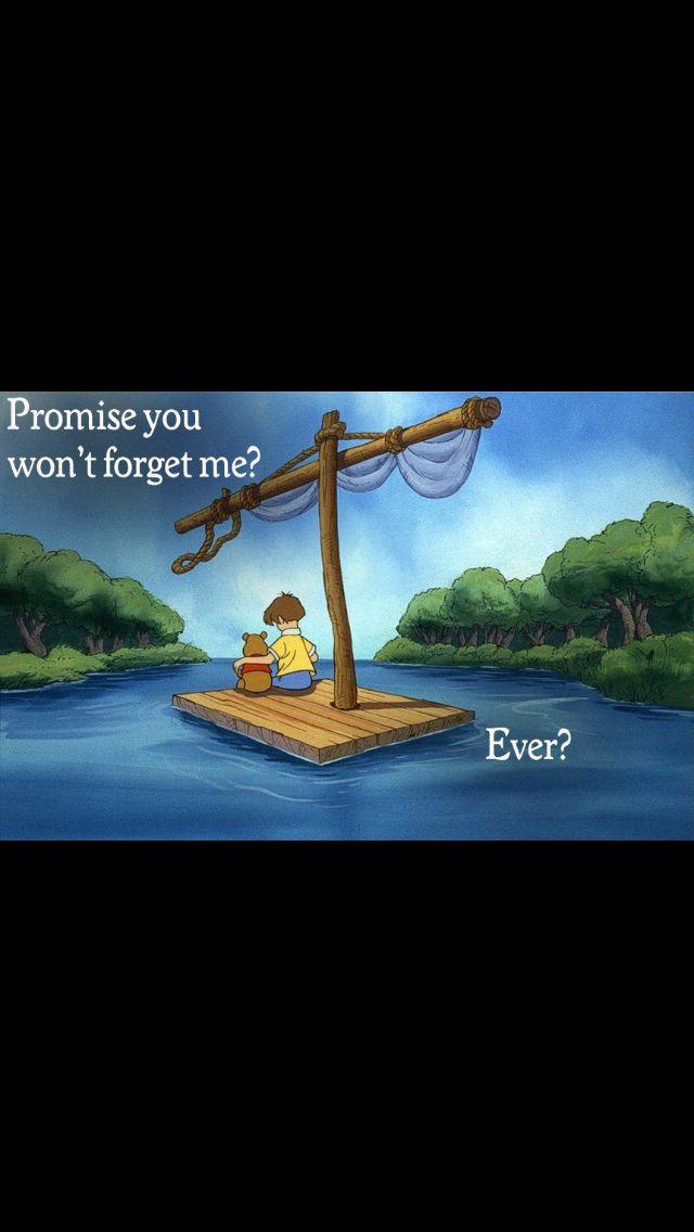 Pooh bear . . .