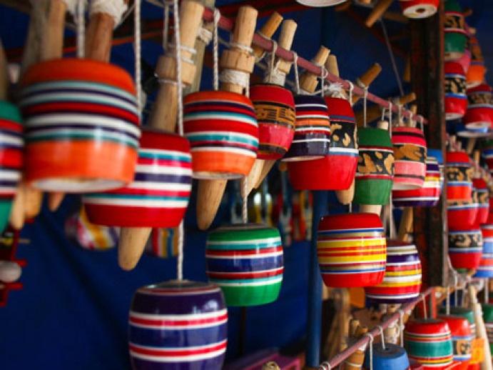 Balero- Juguete Mexicano