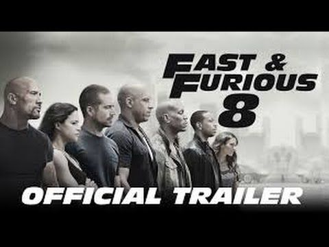 fast and furious 8 the fate of the furious official trailer teaser 2017 vin diesel f8 movie hd. Black Bedroom Furniture Sets. Home Design Ideas
