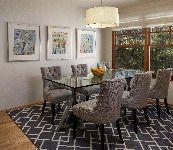 Santa Bárbara de Transición Comedor - Diseño de Interiores Fotos en Santa Barbara, California
