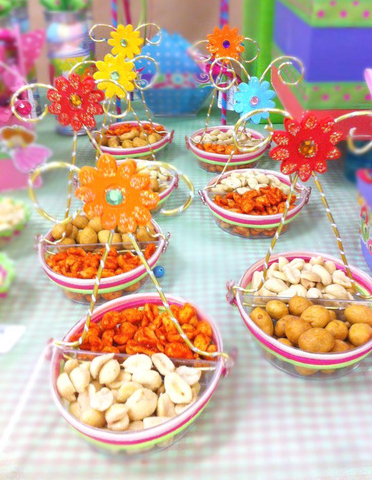 Dulceros para fiestas / Barra de dulces