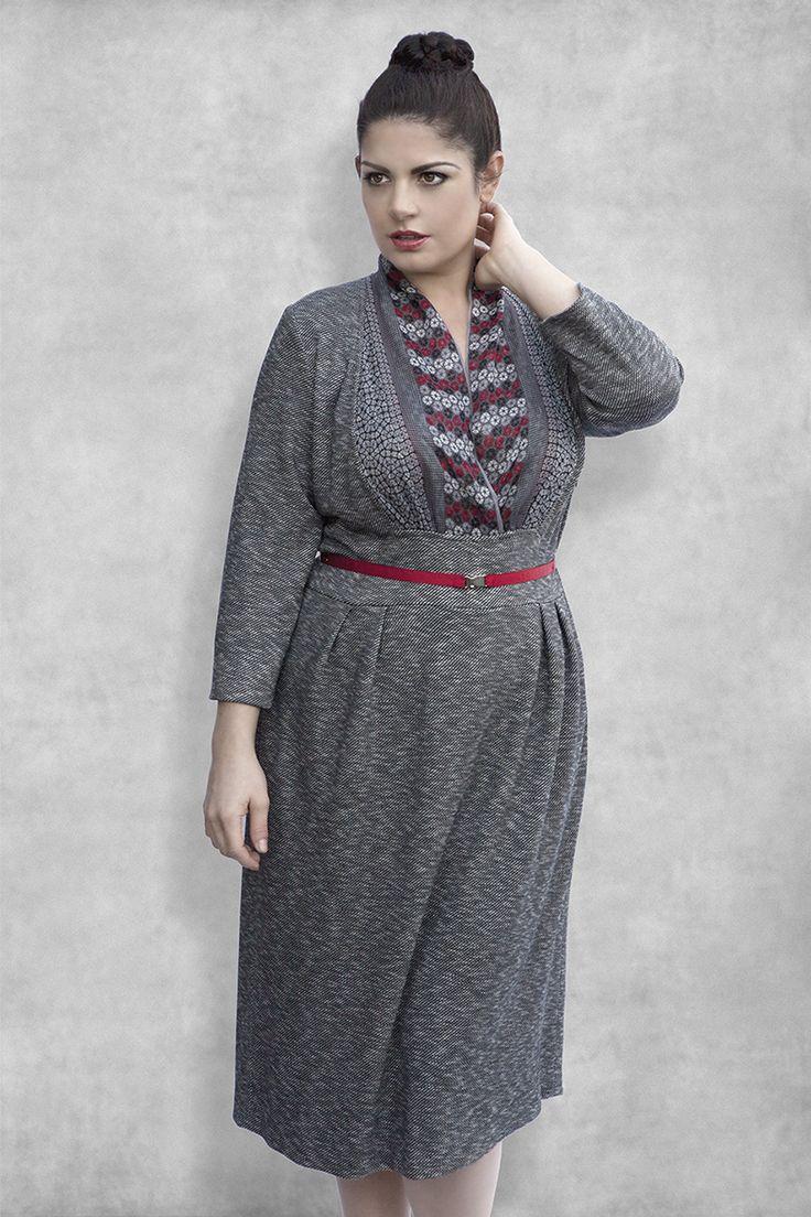 25 Elegant Fall 2016 Plus Size Outfits For Curvy Ladies - Fashion Craze