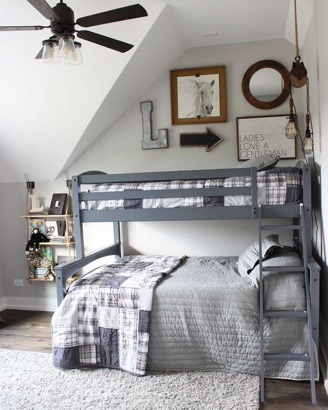 Farmhouse Boys Bedroom #FarmhouseBoysBedroom
