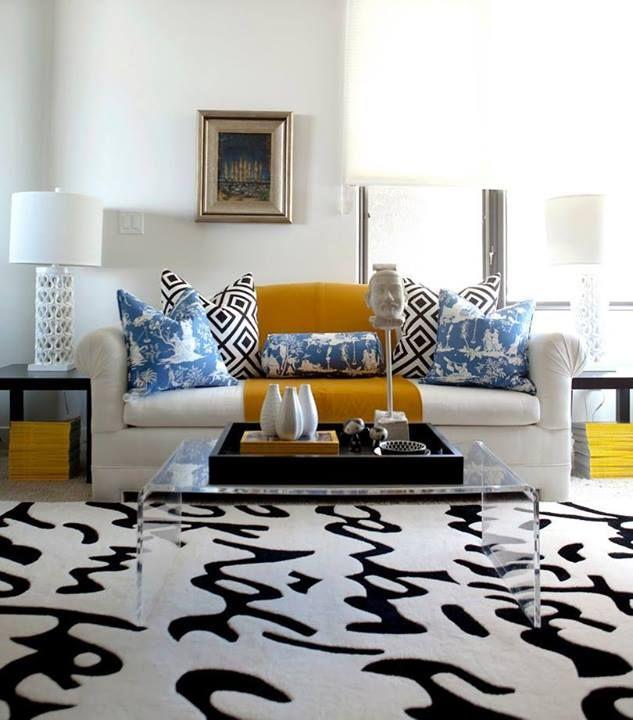 17 besten Teppich Bilder auf Pinterest Teppiche, One kings lane - wohnzimmer teppich schwarz weis