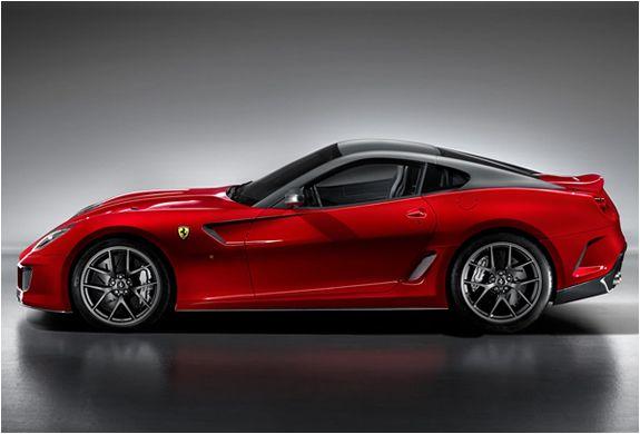 Ferrari 599 GTO - side view