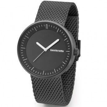 Reloj de Acero Negro Franco Mesh Lambretta. http://www.relojeslambretta.es/products/reloj-de-acero-negro-franco-mesh-lambretta?variant=1068368981