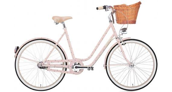 """Creme Molly - Vélo hollandais Femme - 26"""" 3-speed rose"""