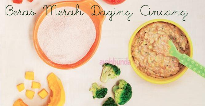 Beras Merah Daging Cincang :: Red Rice Minced Meat :: Klik link di atas untuk mengetahui resep beras merah daging cincang