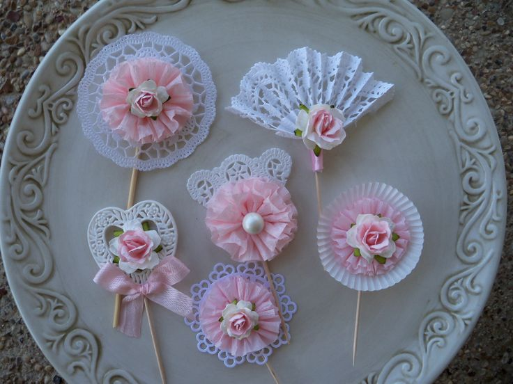 My Fair Lady Cupcake Toppers for Birthday Party