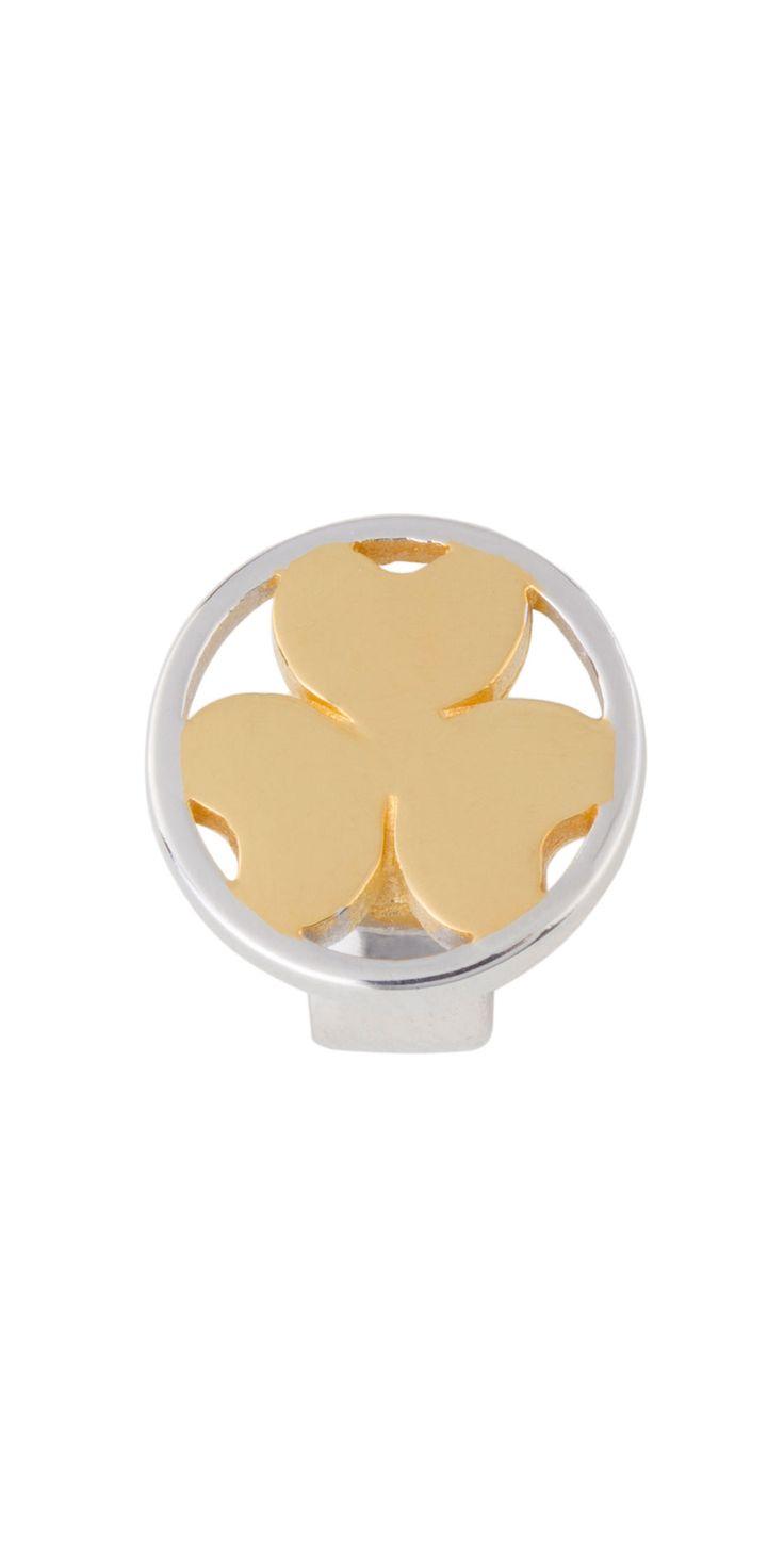 Joy de la Luz | Slide 3 Hearts coin goldplated
