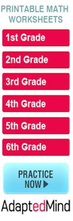 lots of third grade math practice sheets!