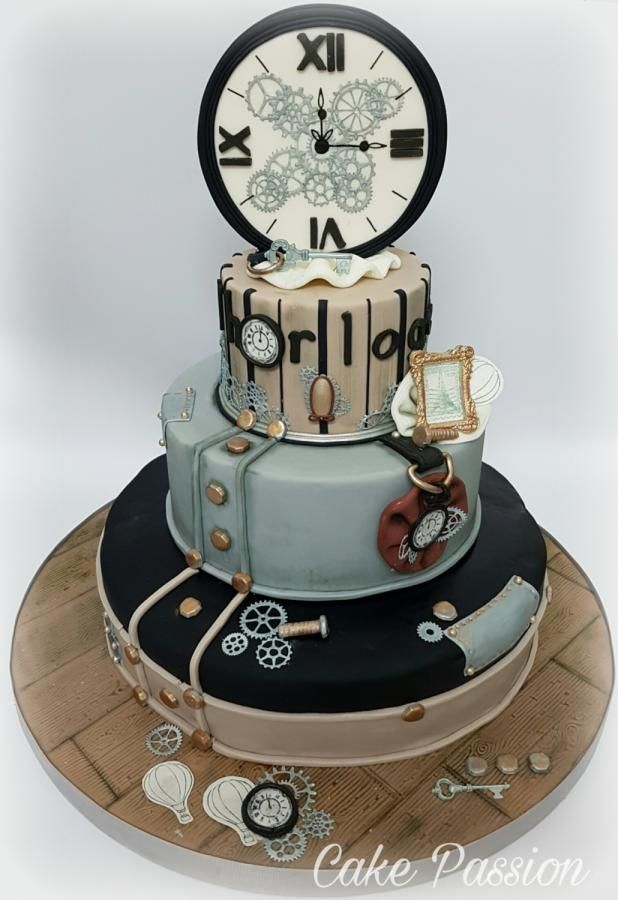 L' horloge Cake by CakePassion