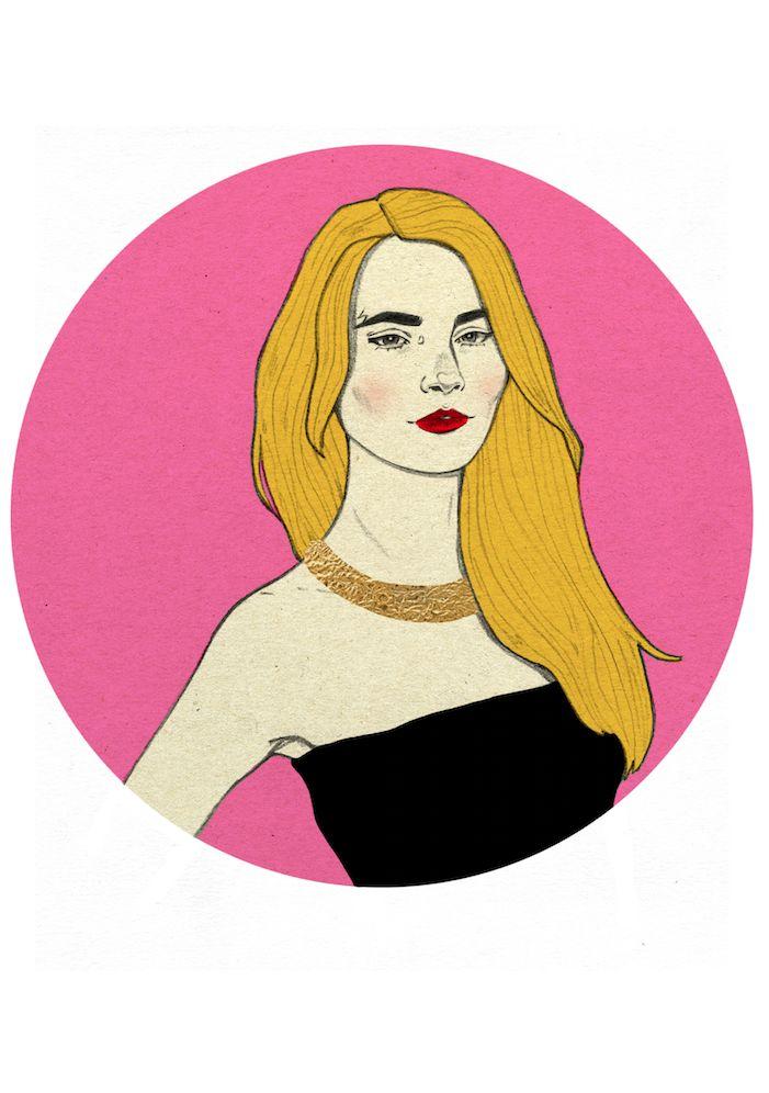Cara Delevigne by Magdalena Pankiewicz