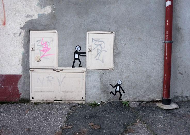 super creative streetart