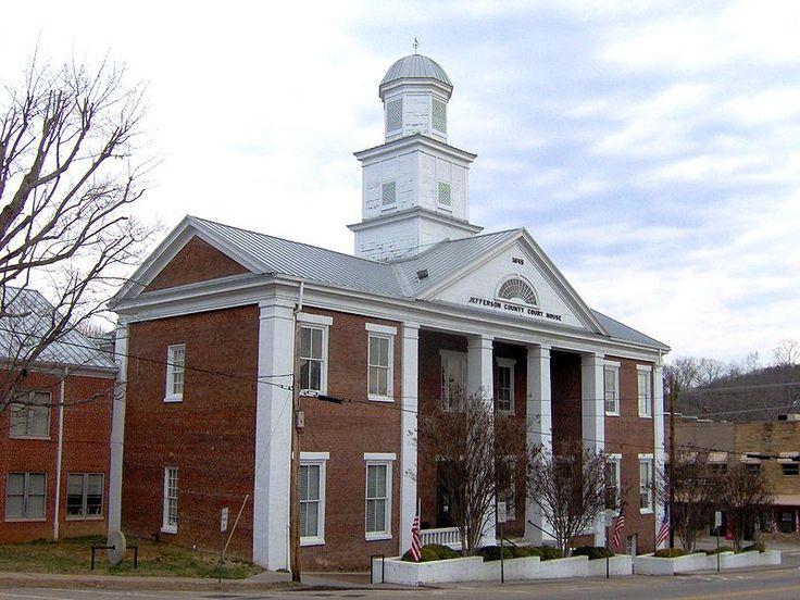 Jefferson county courthouse dandridge jefferson county