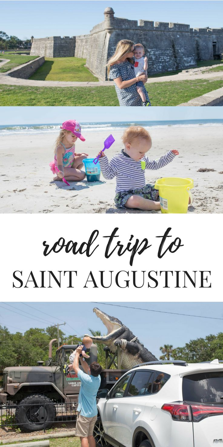 What to do on a road trip to St. Augustine - sights, sounds, places, and the best way to drive! #sponsored #ToyotaRAV4