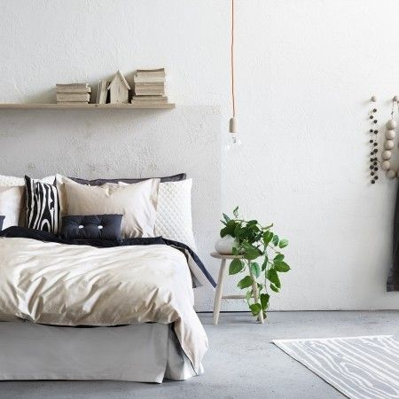 Just in case you needed another example of why Scandi bedrooms are brilliant. Go one step further and use exposed lighting for an urban touch