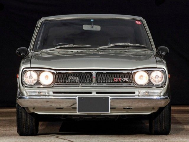 KIDNEY, ANYONE? 1972 Hakosuka GT-R to be auctioned at Monterey Historics