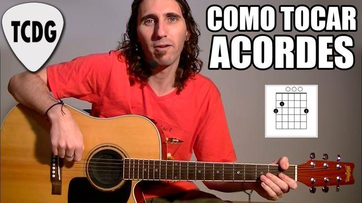 Como Tocar Acordes De Guitarra Acústica Para Principiantes #1: Mayores y...
