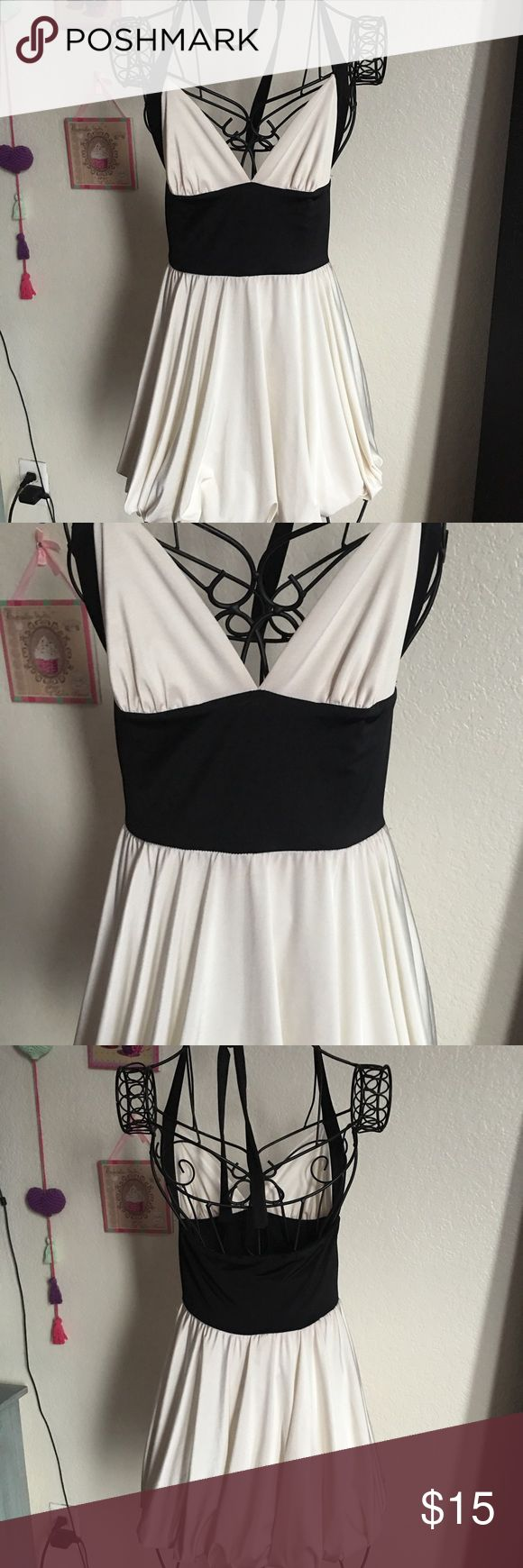 Black and White Mini Party Dress Black and White Mini Party Dress Dresses Mini