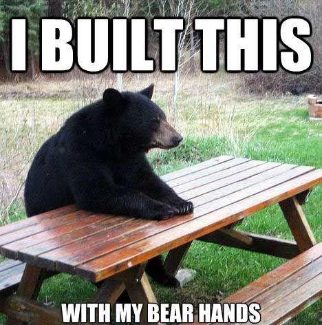 PUNS...puns about bears. Bear puns.......