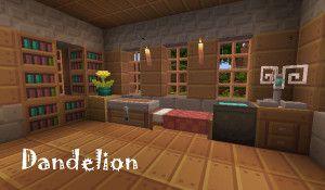 Dandelion Texture Pack para Minecraft 1.6.2