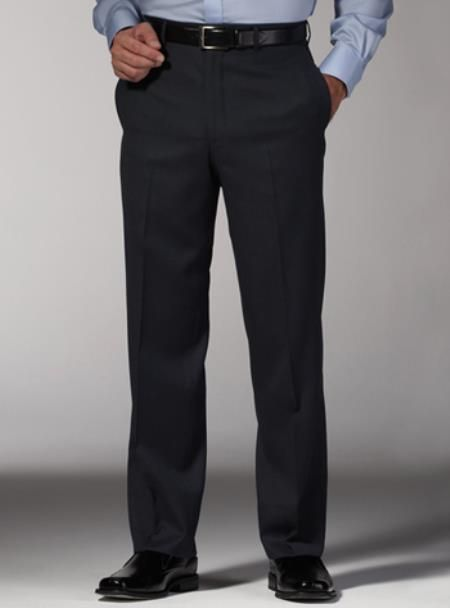 Fitted No Pleat Slacks