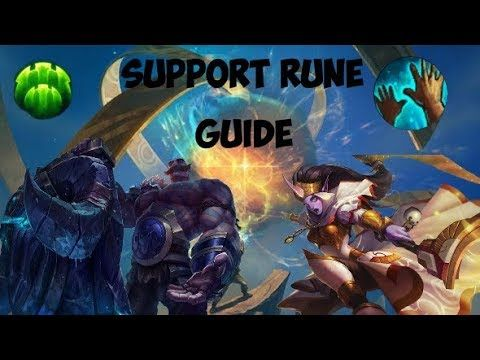 New Support Rune Guide! Guide To Runes For Supports In Next Preseason Patch https://www.youtube.com/watch?v=WQAP6XMo4p0&t=119s #games #LeagueOfLegends #esports #lol #riot #Worlds #gaming