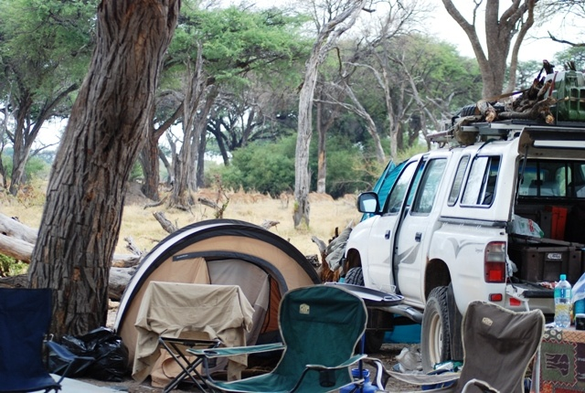 Bush Camping in the Moremi