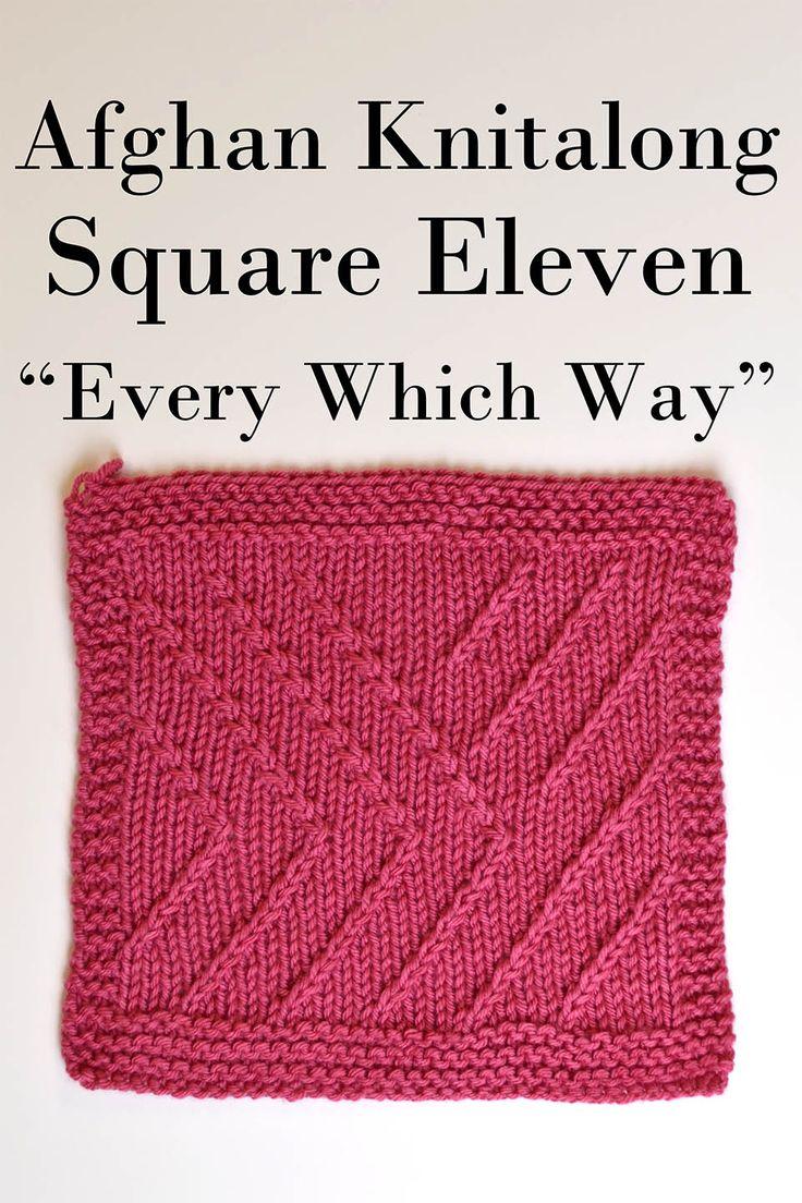 76 best knitting blocks images on pinterest knitting patterns afghan knitalong block 11 freepattern bankloansurffo Image collections