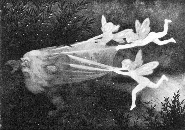 Theodore Kittelsen   Faerie Sight