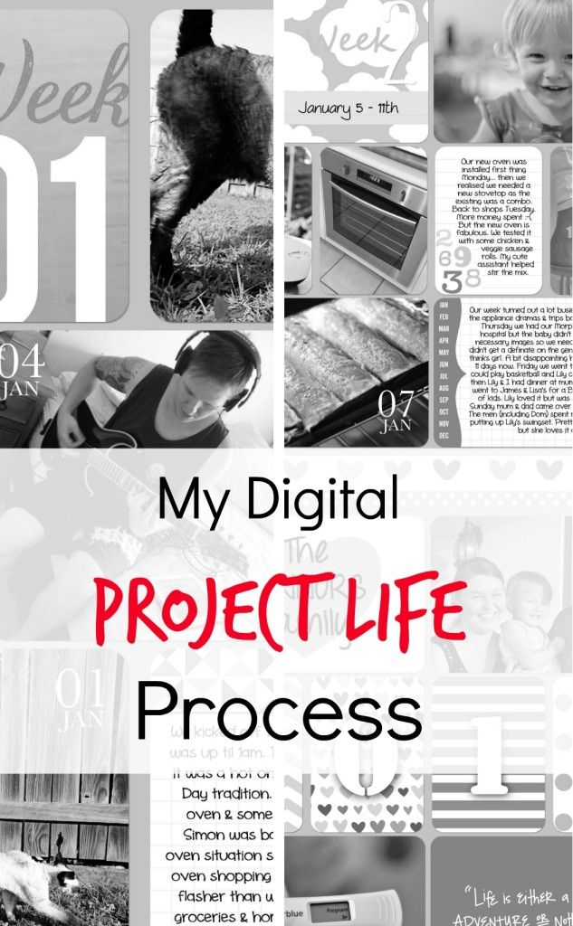I get a lot of questions on how I do digital project life so I am sharing my project life process in case it helps others find their own process.