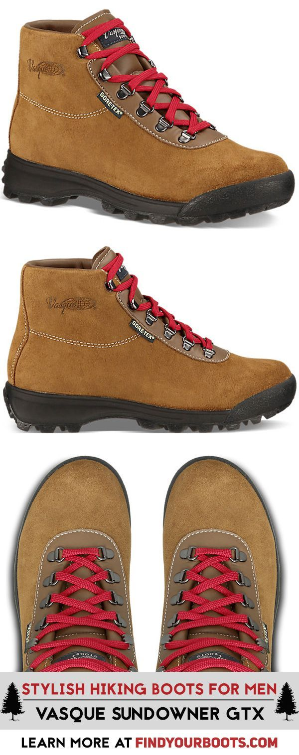 Vasque Sundowner Gore-Tex Boot - Vintage style hiking boots for men. These stylish hiking boots have a serious retro vibe.