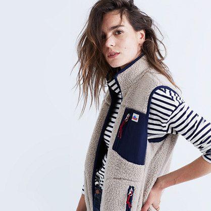 Penfield® Lucan Fleece Vest - Madewell - Small