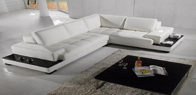 Latest L Shaped Sofa Designs Modern Leather Sectional Sofas