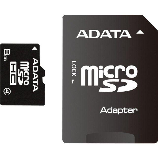Speicherkarte Microsdhc 8 Gb Class 4 Inkl Adapter Speicherkarte Karten Und Speicher
