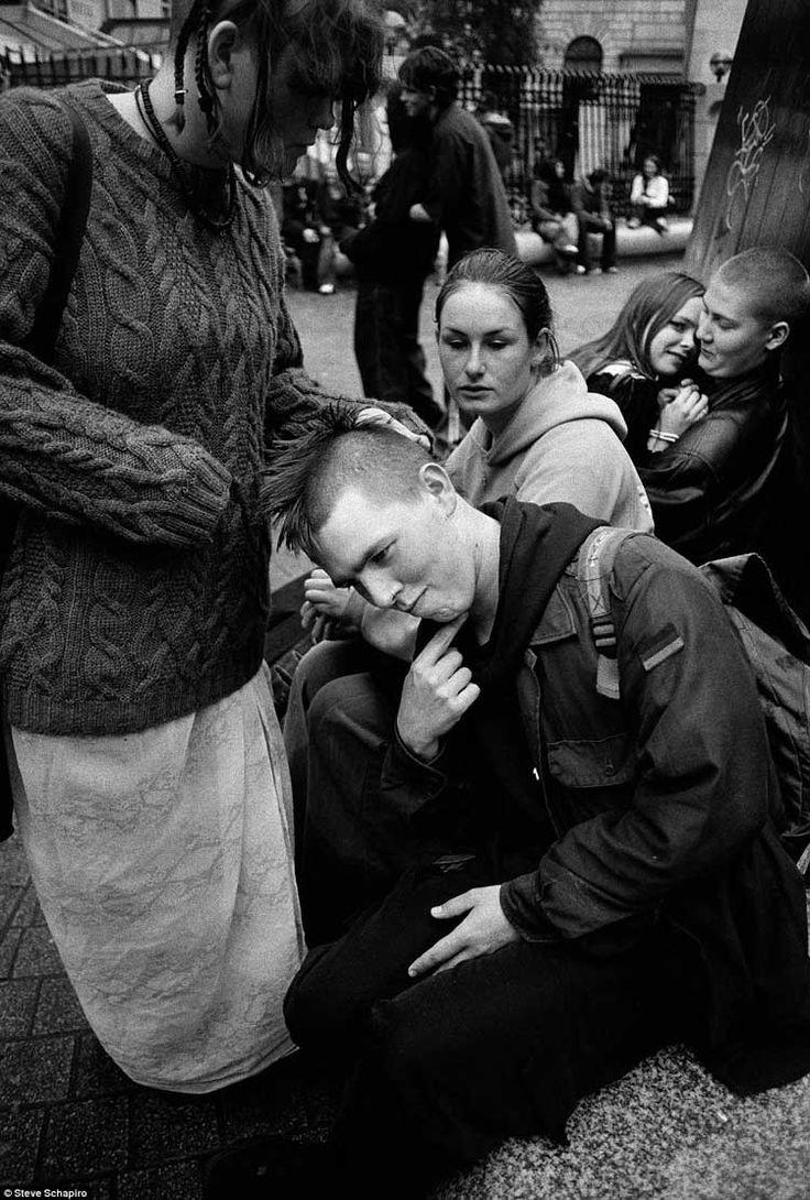 Punk in Dublin by Steve Schapiro