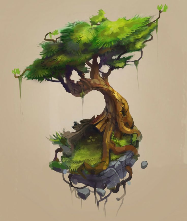 I love this tree, and cannot wait to see it in 3D (even if I have to do it myself)...  http://beezul.blogspot.com.au/2013/12/trees-n-stuff.html Art Of Gon: trees n stuff