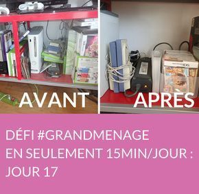 Jour 17 du défi #GRANDMENAGE : découvrez nos astuces pour nettoyer votre télévision, faire de l'ordre dans votre meuble TV et nettoyer votre bibliothèque ! Suivez jour après jour le défi #GRANDMENAGE de la rédac' : http://www.deco.fr/nettoyage/actualite-769410-defi-menage-15-minutes.html