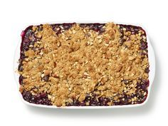 Blueberry-Oatmeal Crisp Recipe : Food Network Kitchen : Food Network - FoodNetwork.com. A weekend dessert since it calls for a laundry list of ingredients. It's easy enough though.