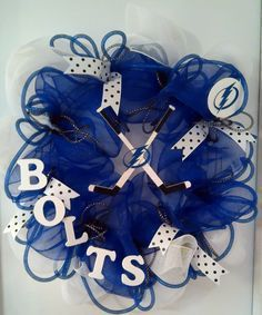 tampa bay lightning wreath - Google Search