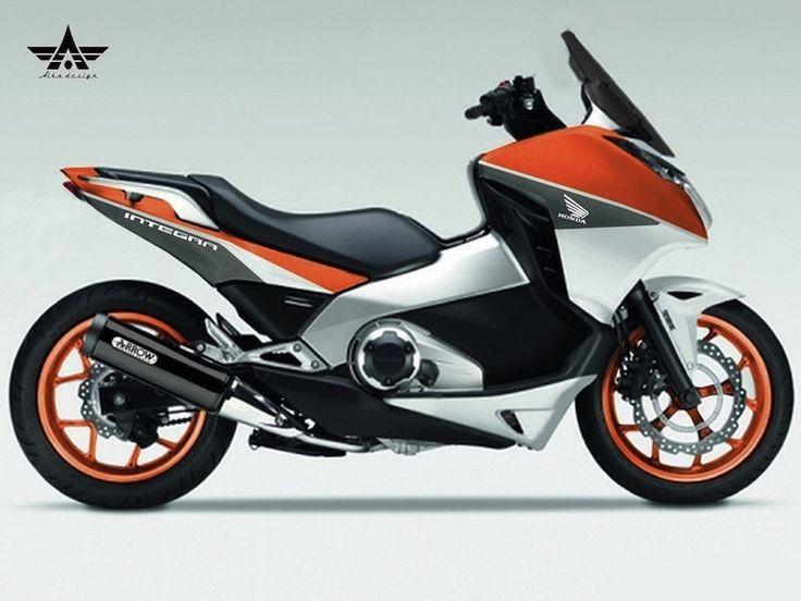 Honda Moto Scooter Integra – Idea di immagine del motociclo