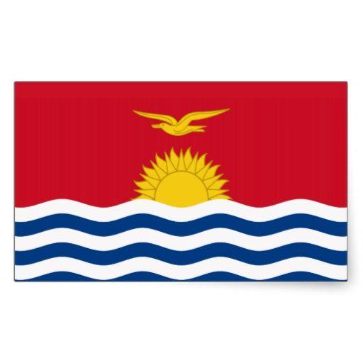 I-Kiribati flag Stickers