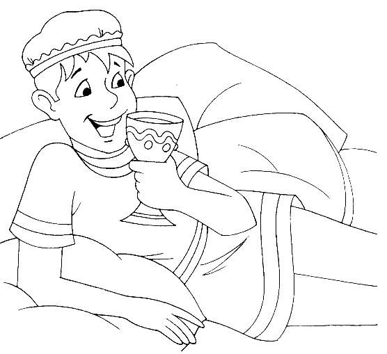 The prodigal son 39 s wasteful and wild living luke 15 for Prodigal son coloring page for preschoolers