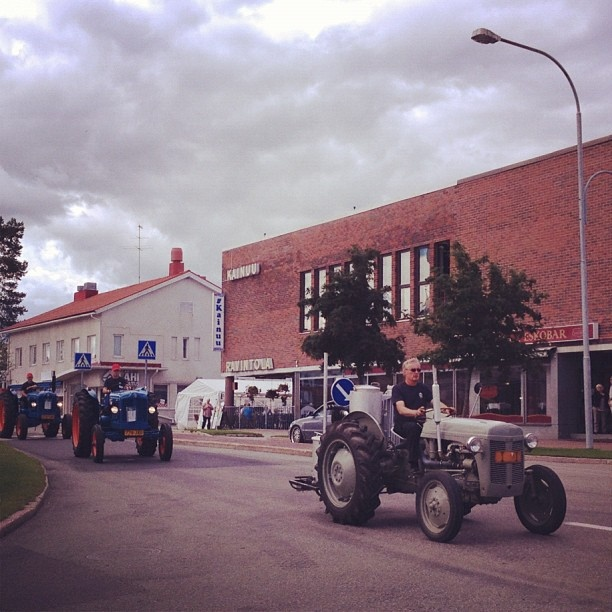 Vehicles from the old times at Kuhmo, Kainuu, Finland